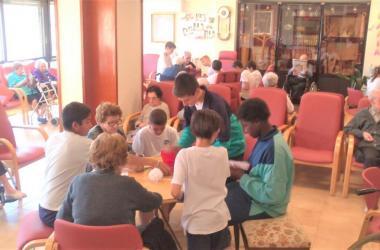Actividades con la escuela Cor de Maria de Olot