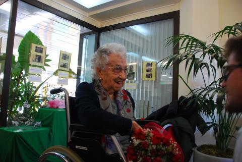 110 anys de la sra. Maria Branyas