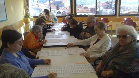 Taller Día Internacional de la Gente Mayor Residencia Santa María del Tura