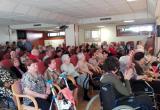 Gaudint de l'espectacle del Casal de Gent Gran de Torelló, amb els nostres residents