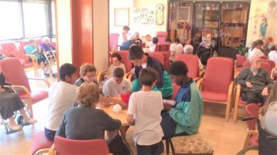 Activitats amb l'escola Cor de Maria d'Olot