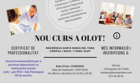 INFORMACIÓ DEL CURS D'ATENCIÓ SOCIOSANITÀRIA (RESIDENCIA SANTA MARIA DEL TURA)